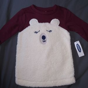 Nwt girls Old Navy Polar bear dress sz 3-6 mth